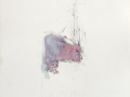 sans titre, 2003, mine de plomb et huile sur papier, 133 x 102 cm
