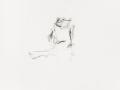sans titre, 2002, mine de plomb et crayon de couleur sur papier, 32,5 x 27 cm