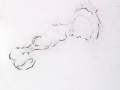 sans titre, 2006, pastel gras, mine de plomb, crayon et huile sur papier, 172 x 145 cm