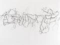 sans titre, 2012, crayon, crayon de couleur, mine de plomb et pastel gras sur papier, 140 x 225 cm