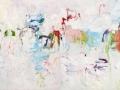 artres summer (diptyque), 2011-2012, huile sur toile, 250 x 400 cm