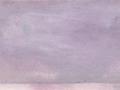 chemin faisant, se rafraîchir à l'horizon, 2018, crayon aquarelle et huile sur papier, 10,2 x 16 cm